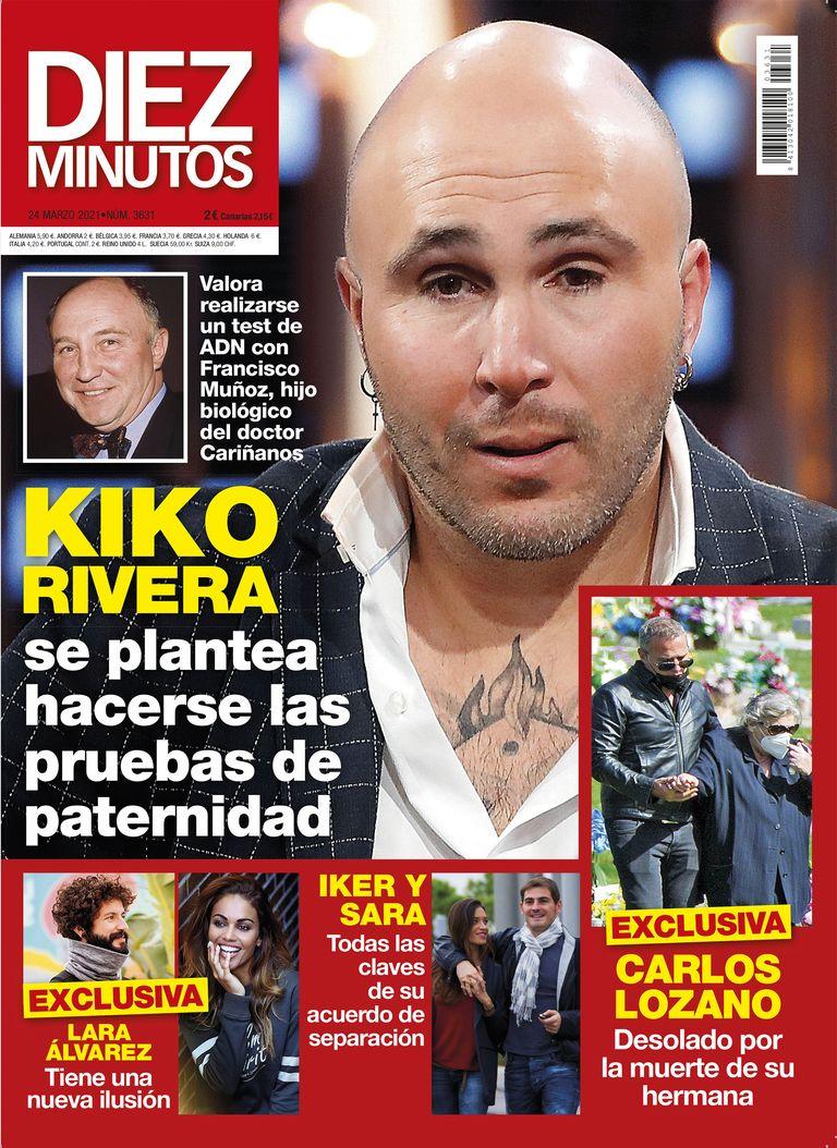 Kiko Rivera portada de Diez MInutos