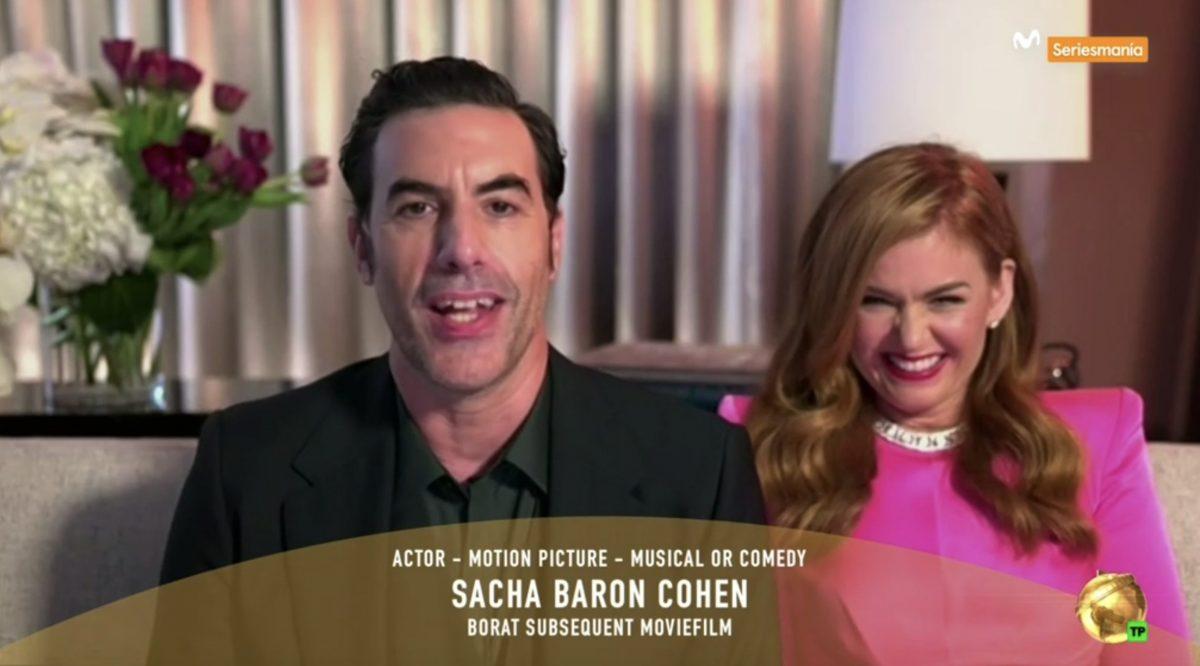 Sacha Baron Cohen e Isla Fischer