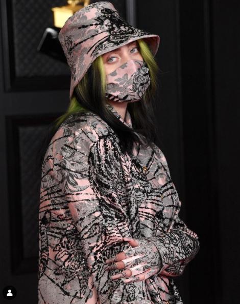 Billie Eilish en los Grammy 2021