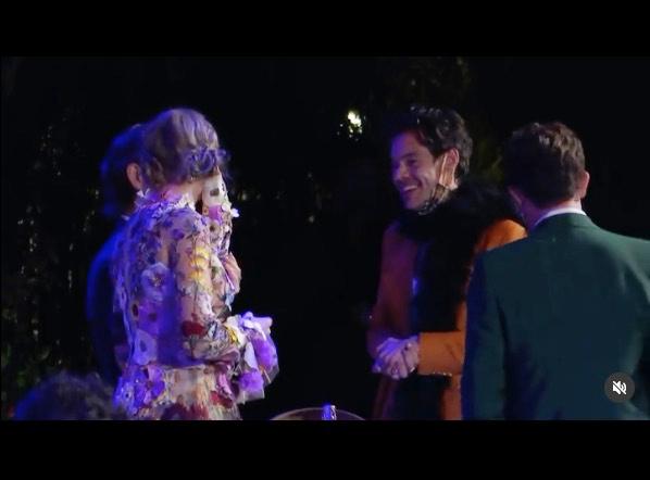 Harry y Taylor en los Grammy 2021