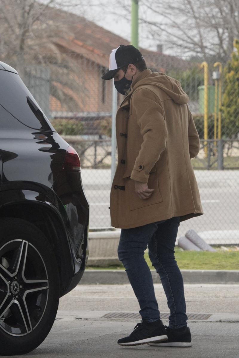 Iker Casillas, en Madrid
