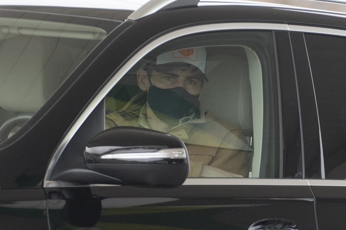 Iker Casillas, al volante