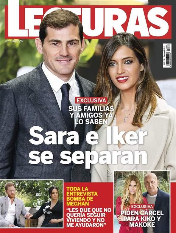 La separación de Iker y Sara Carbonero