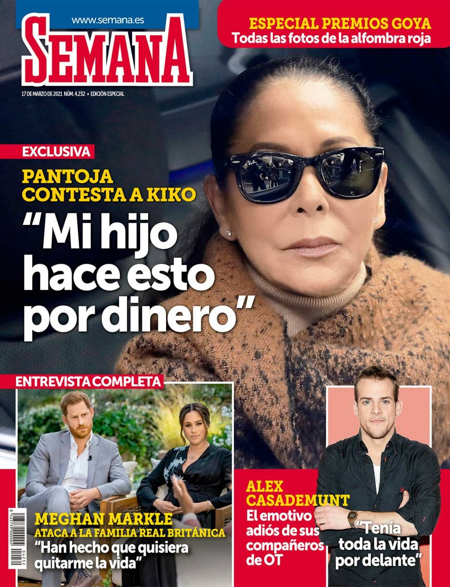 Isabel PAntoja portada Semana