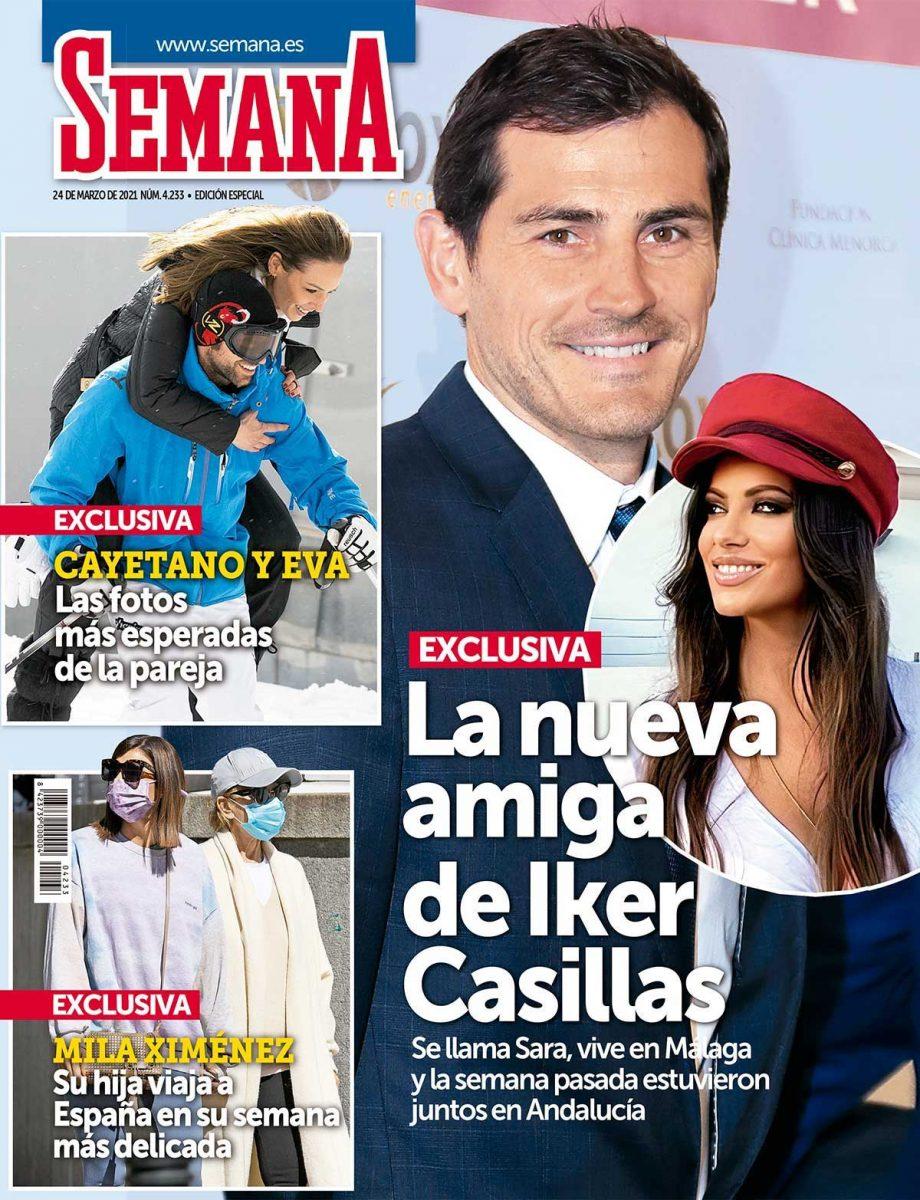 La nueva amiga de Iker Casillas portada Semana,