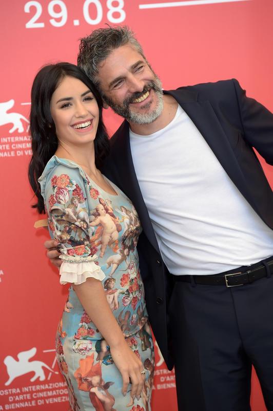 Lali Espósito con Leonardo Sbaraglia