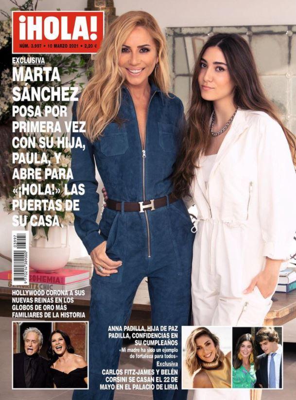 Marta Sánchez portada Hola.