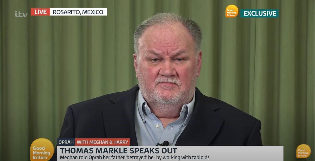 Meghan y Harry sufren las consecuencias de su entrevista, Thomas Markle habla y no se calla