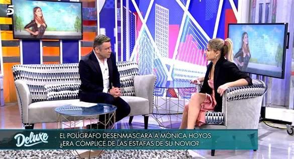 Mónica Hoyos en Domingo deluxe