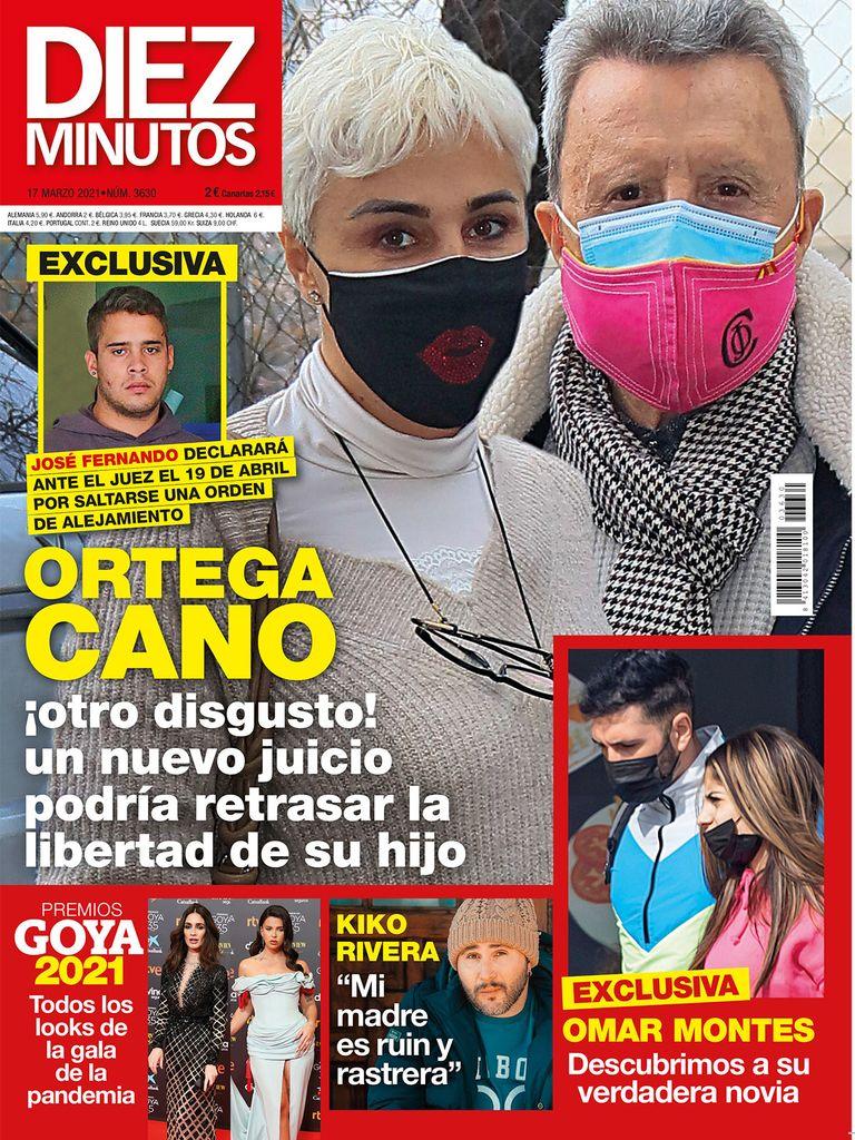 Ortega Cano y Omar Montes portada.