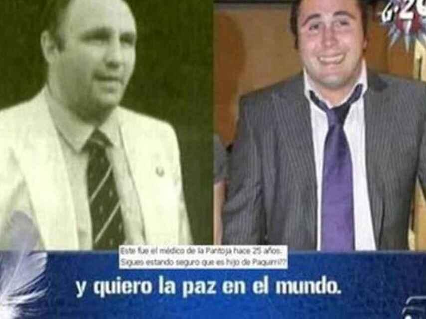 Imagen del doctor Cariñanos en el programa de Telecinco