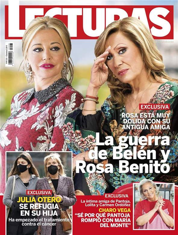 La guerra de Belén Esteban y Rosa Benito.