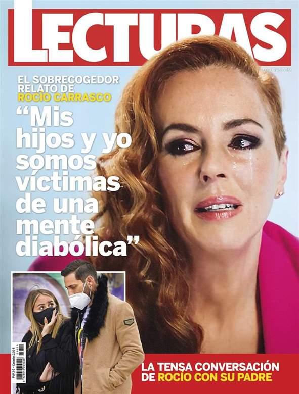Rocío Carrasco y la tensa charla de Rocío Flores y Antonio David.