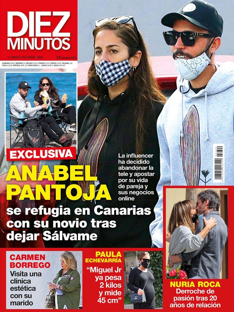 Anabel Pantoja en Canarias.
