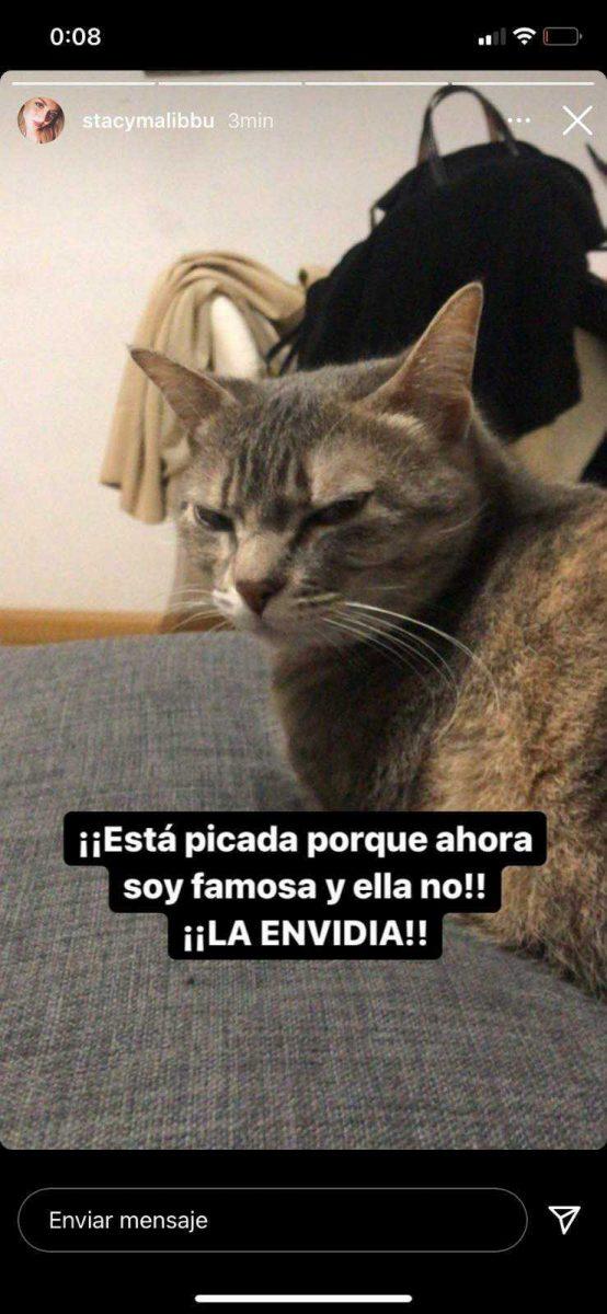 Reacción de la novia de Juan Ibáñez a la publicación de Crush.News en su stories