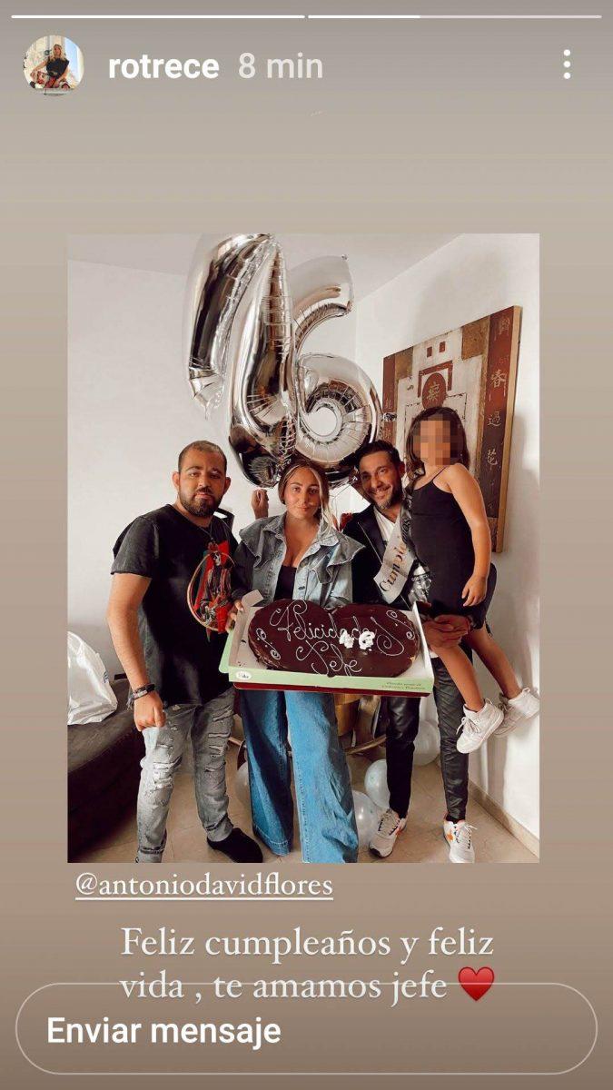 El cumpleaños de Antonio David