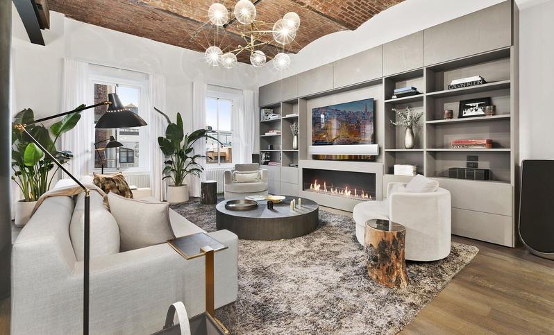 Bella Hadid vende apartamento en Soho Nueva York fotos de sala de estar