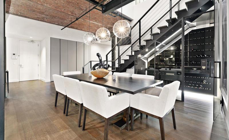 Espacio optimizado en el apartamento de Bella Hadid en Nueva York