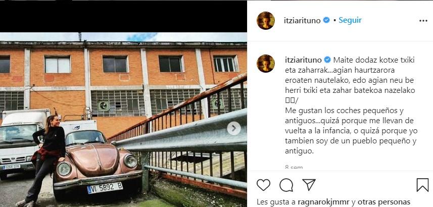 A Itziar Ituño le gustan los coches y bicicletas viejas y pueblos antiguos