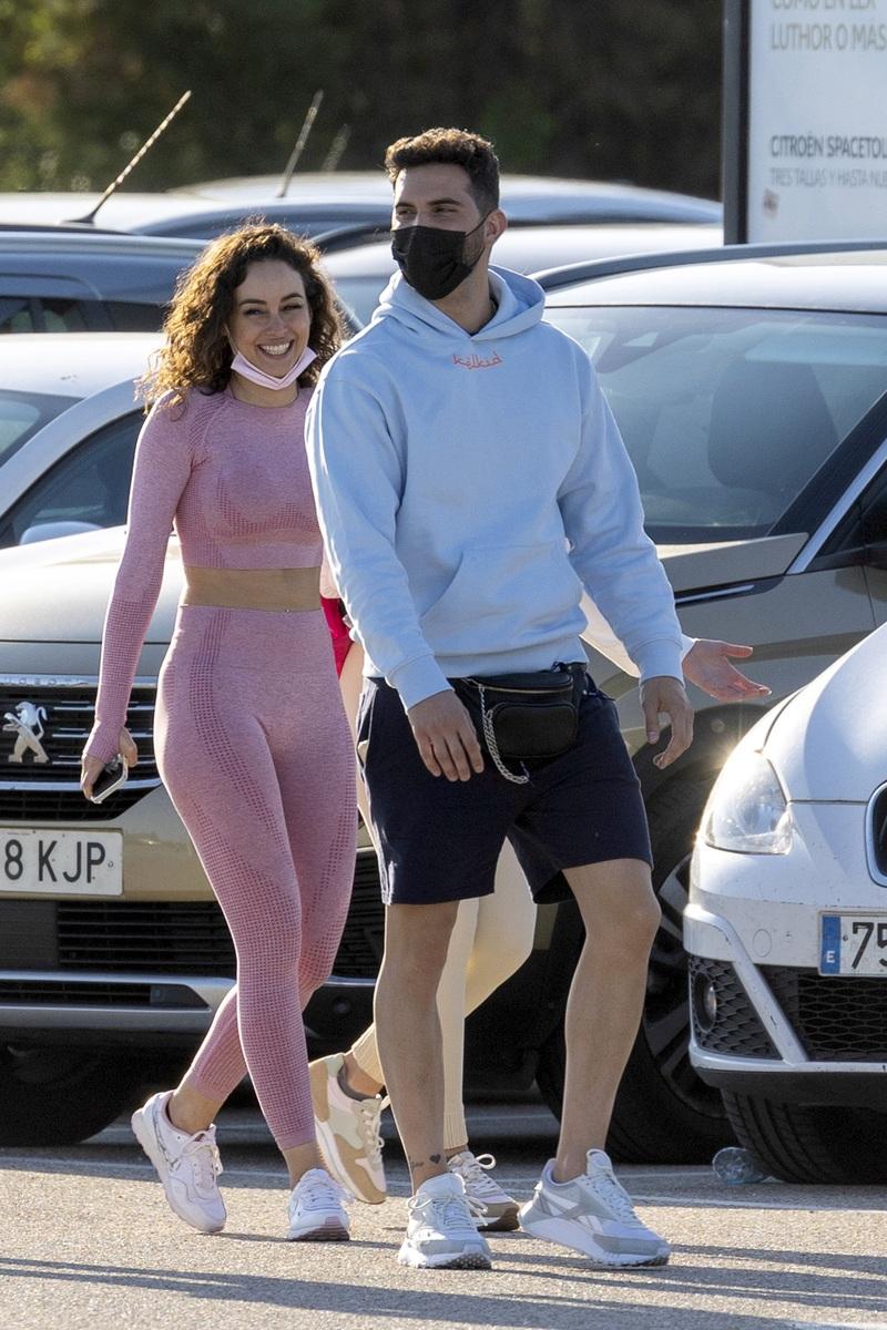 Primeras fotos de Suso con su novia