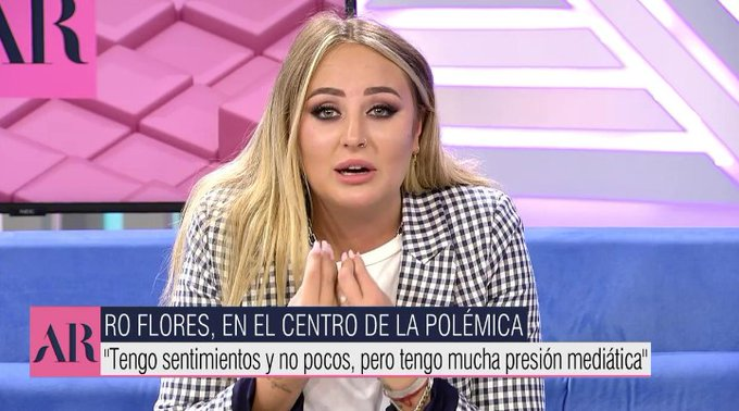 Rocío Flores ha llamado a su madre.