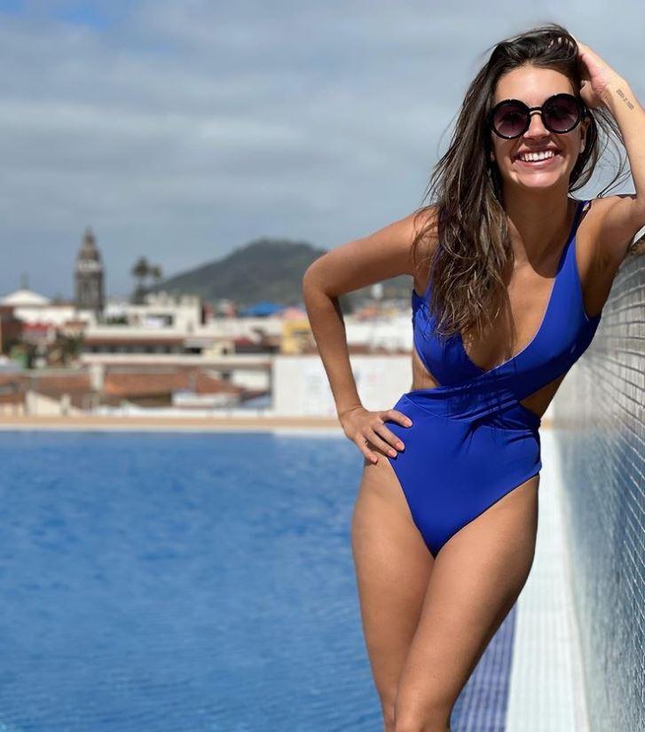 Ana Guerra en trikini