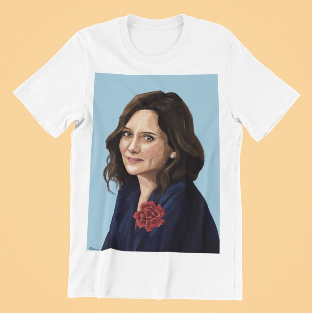 Camiseta de isabel diaz ayuso