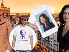 Ayusers vs Pablers: la guerra por Madrid también se libra en tiendas de ropa