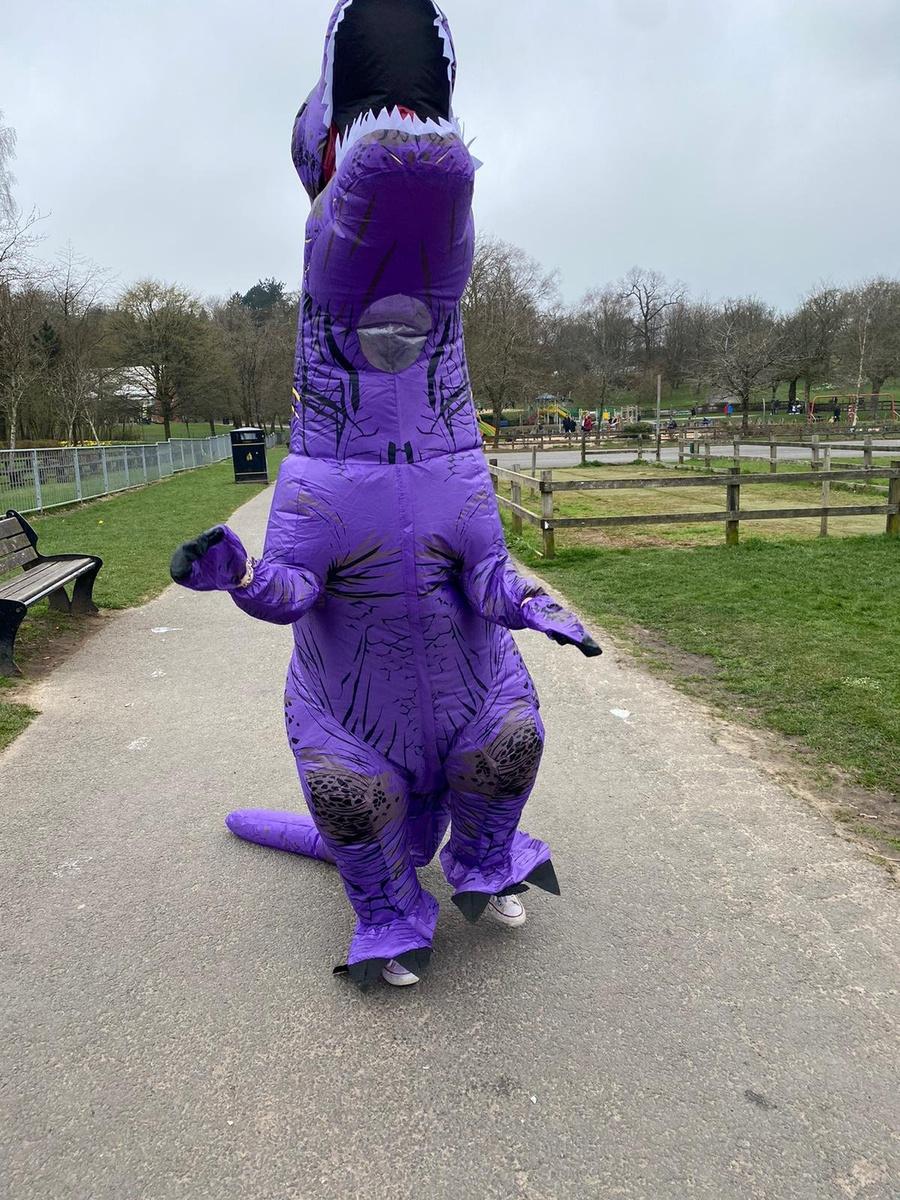 Disfraz de T-rex