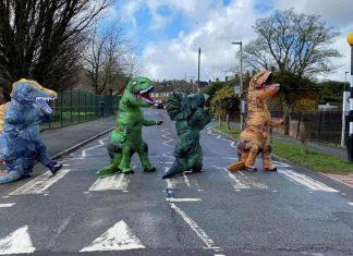 Portada de la entrevista con dinosaurios