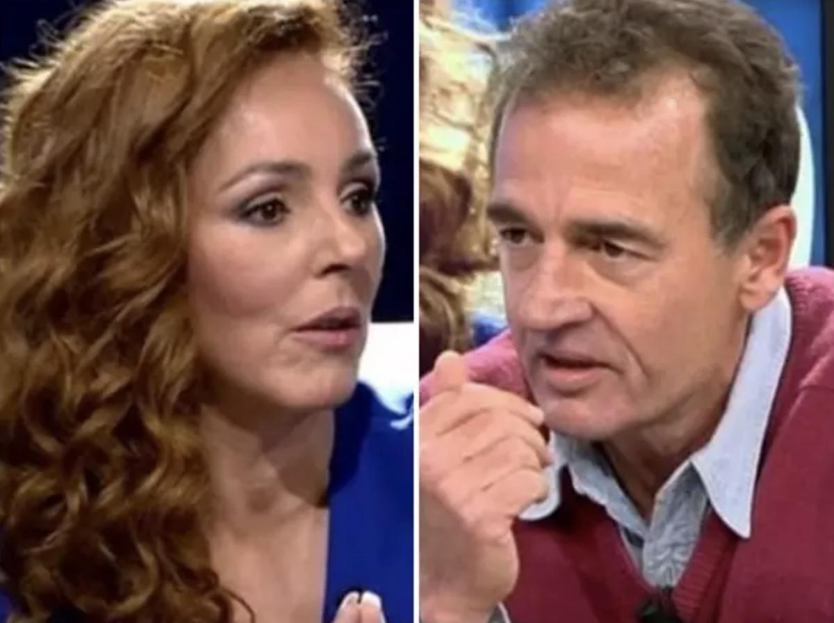 Alessandro Lequio ofendido con Rocío Carrasco coontrataca