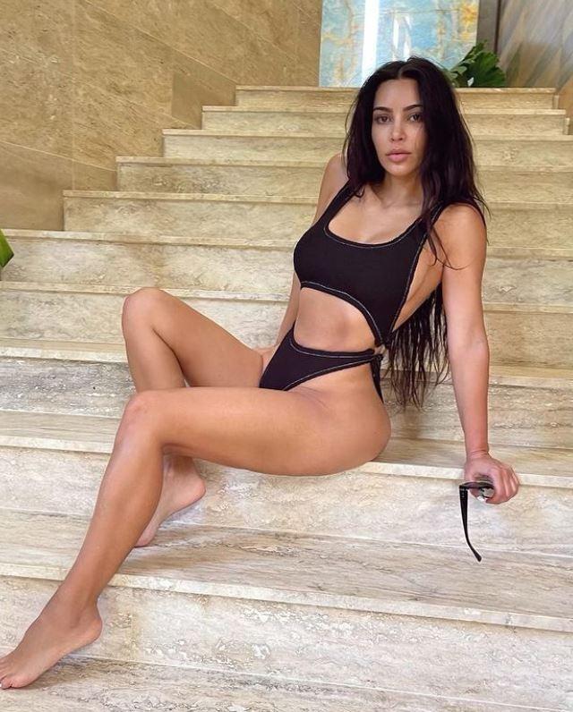 Famosas en bikini: Kiam Kardashian