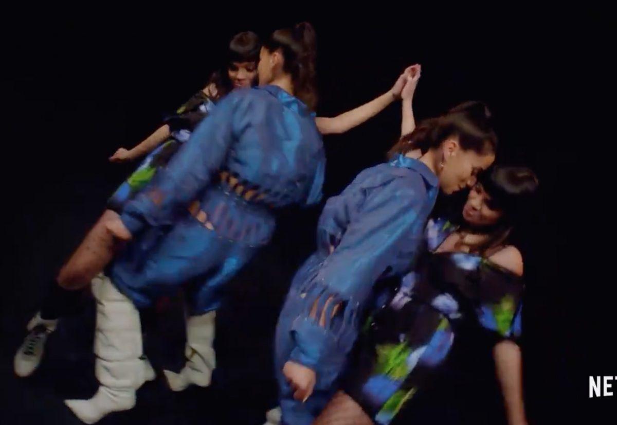 Rebeka y Mencía en el vídeo