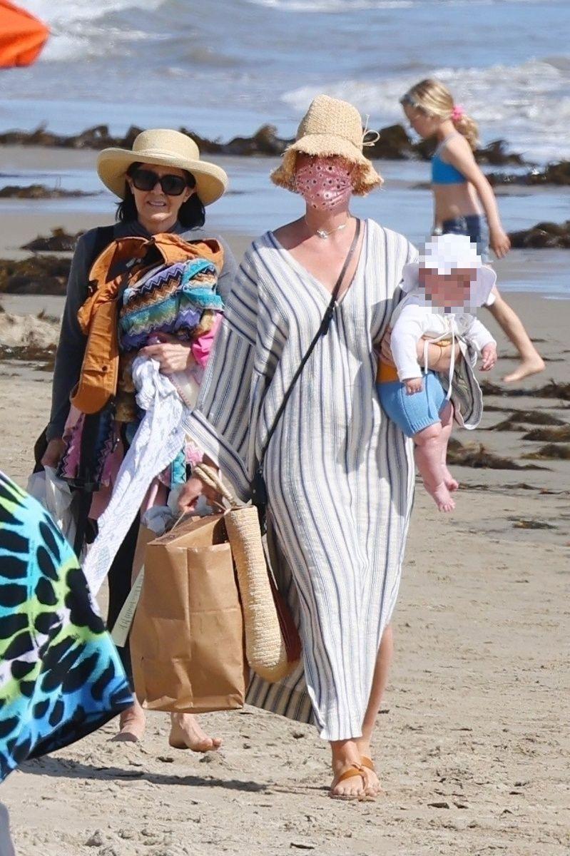 Katy Perry y su hija
