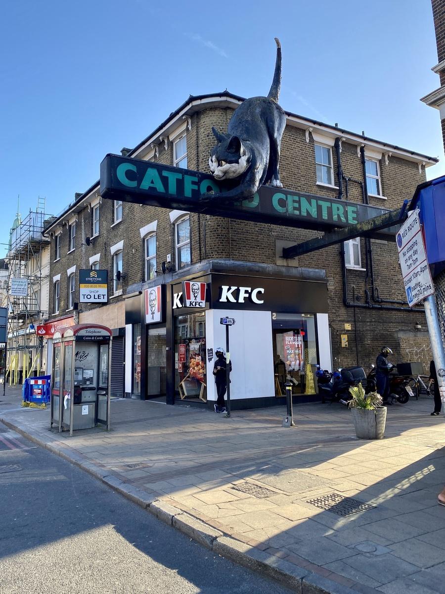 Catford Centre, el lugar elegido para rodar el último videoclip de Ed Sheeran