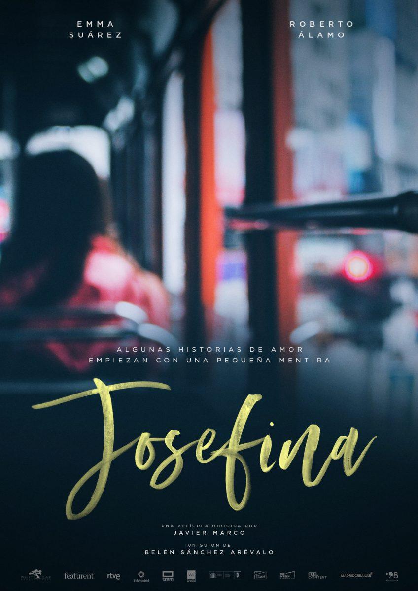 Cartel de Josefina, la nueva peli que rueda Miguel Bernardeau