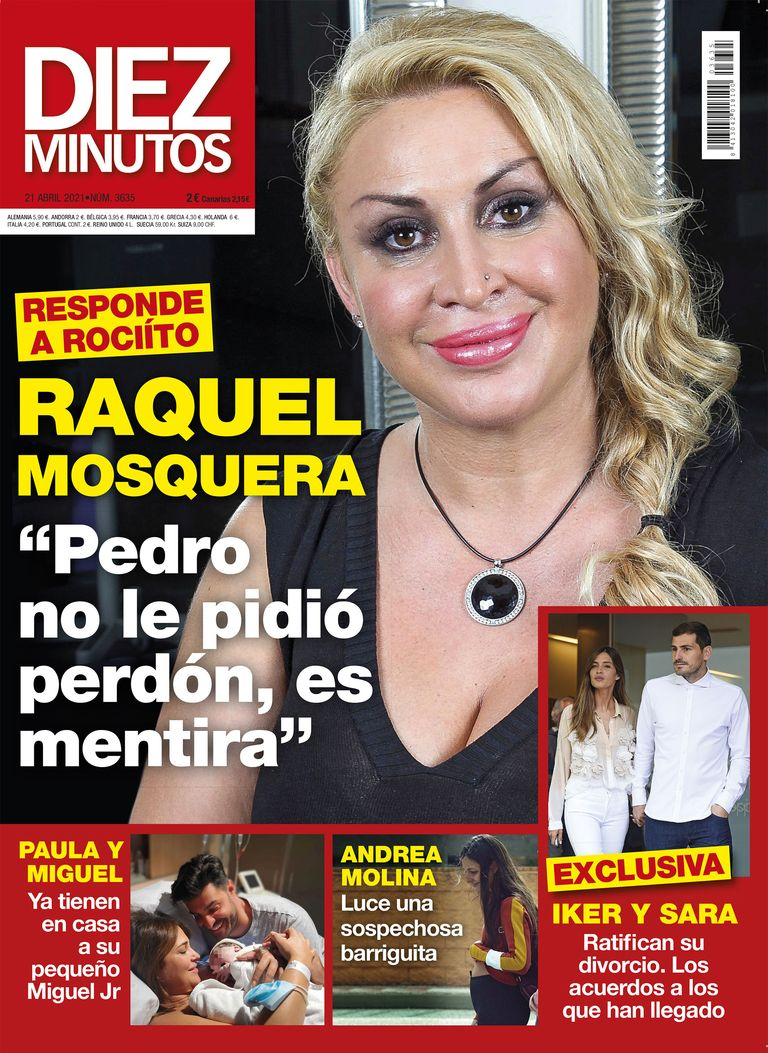 Raquel mosquera responde a Rocío CArrasco,
