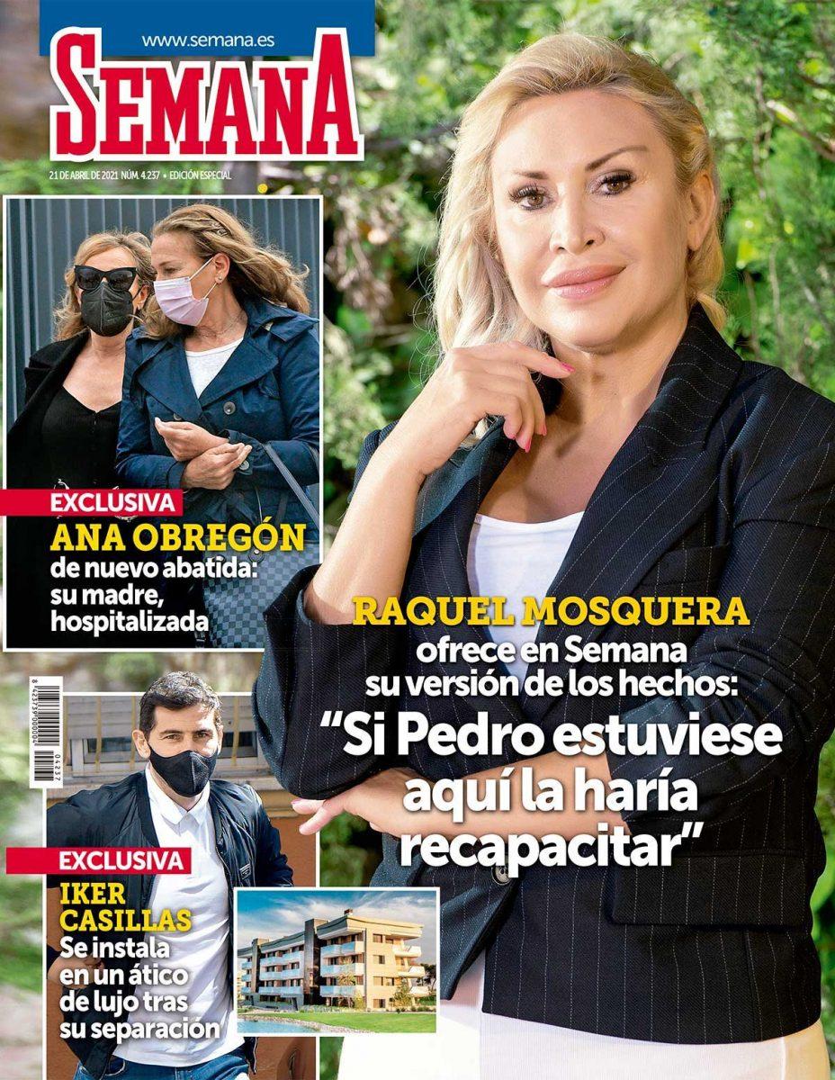 La guerra entre Raquel Mosquera y Rocio Carrasco portada