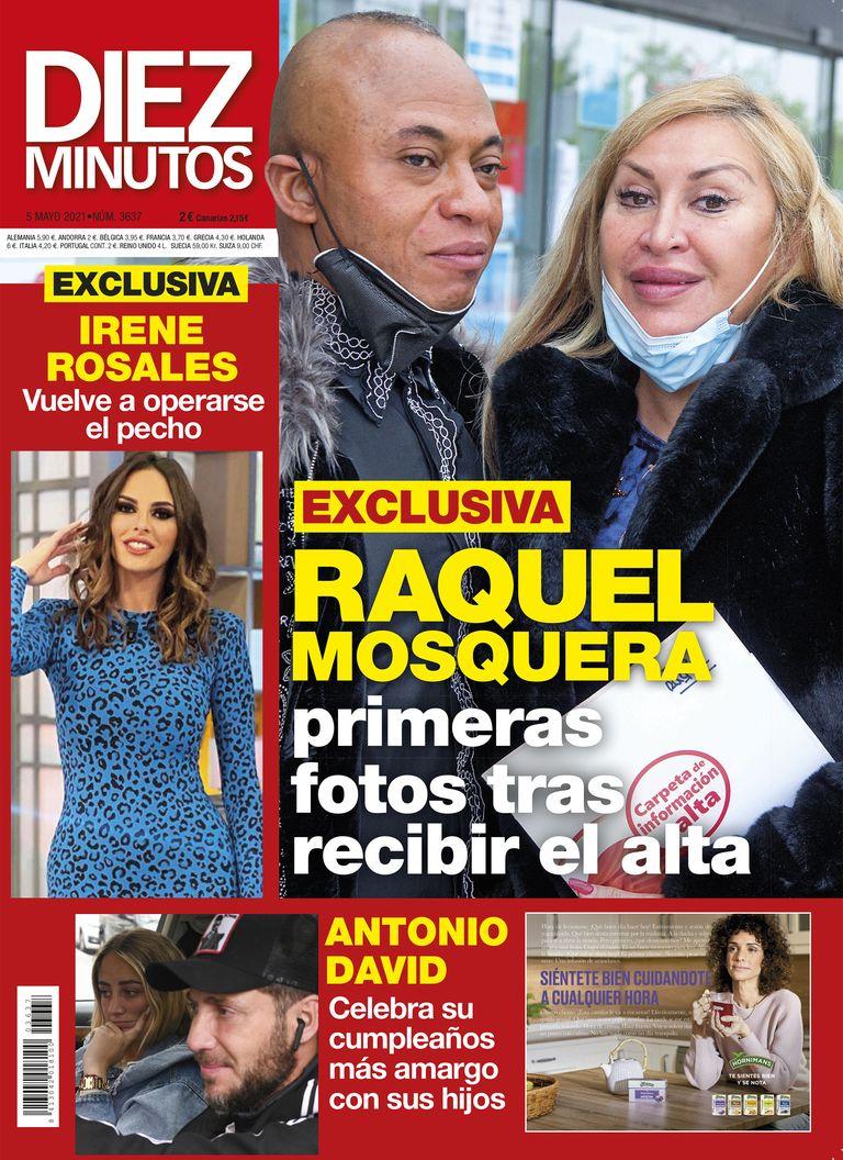 Raquel Mosquera recibe el alta