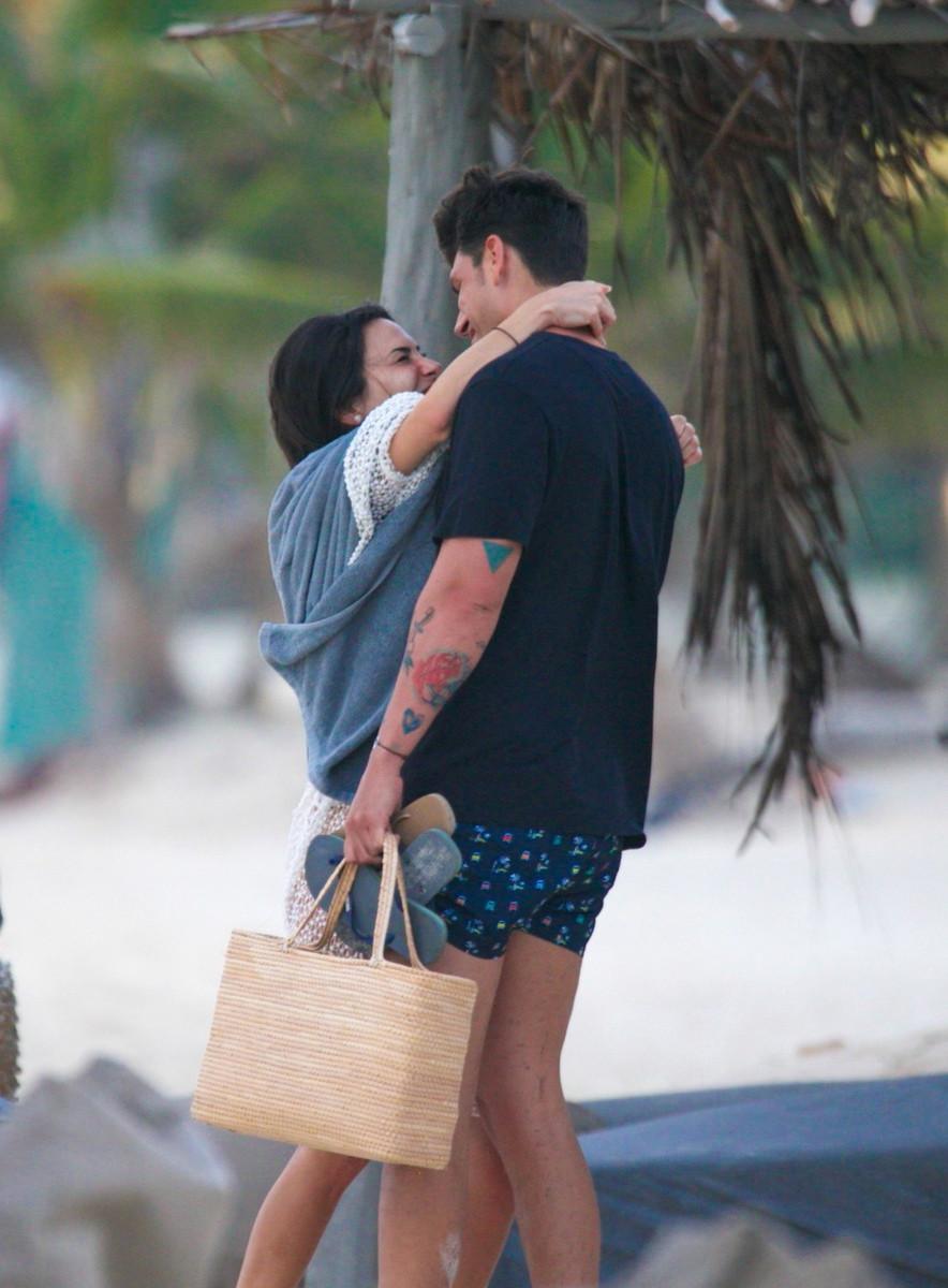 Así fueron las románticas vacaciones antes de la ruptura de Diego Matamoros y Carla Barber