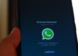 aceptar los términos y condiciones de WhatsApp