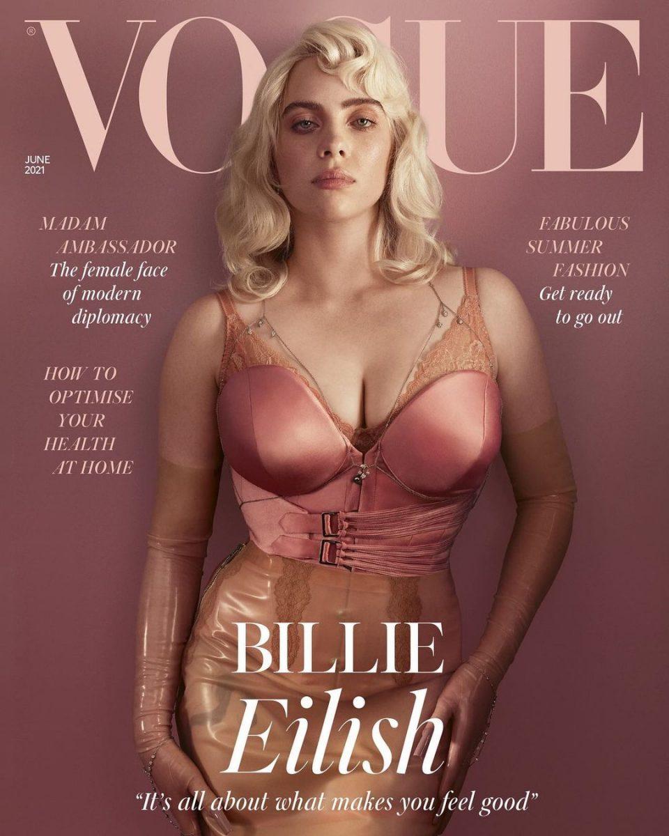 Billie Eilish se desnuda en Vogue