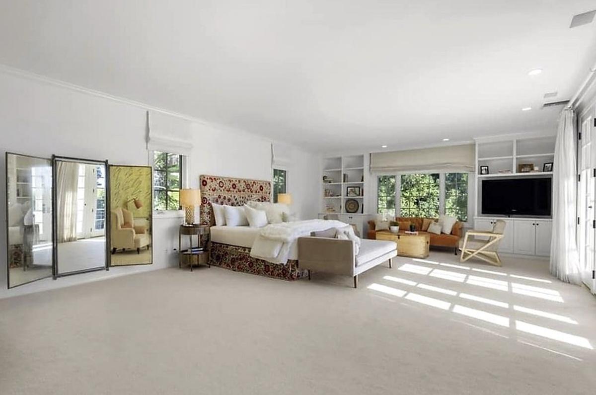 Habitaciones de la propiedad vendida por Katy Perry en Beverly Hills