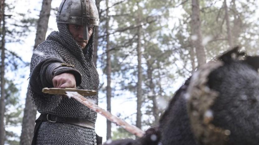 Jaime Lorente en la segunda temporada de El Cid