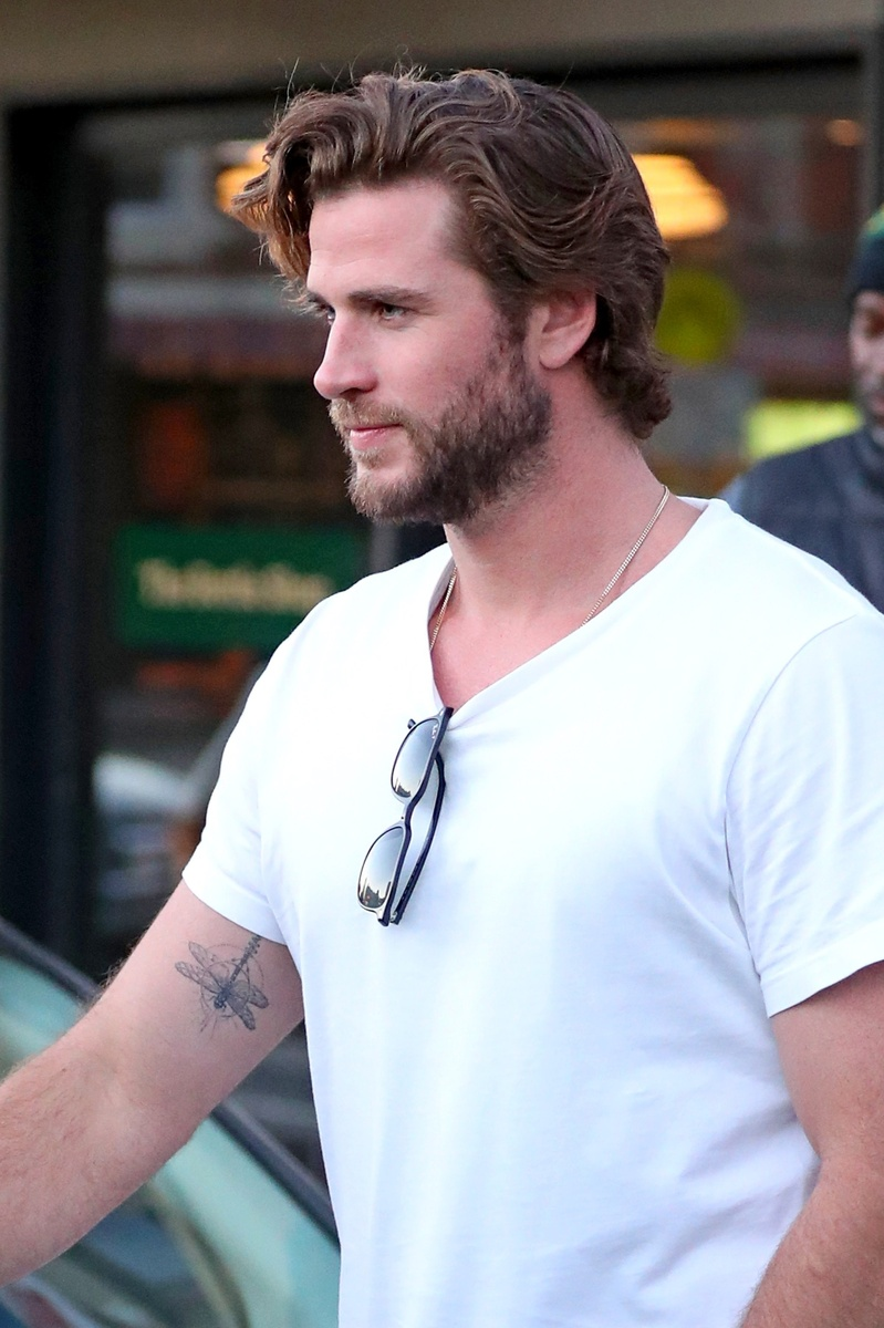 Liam Hemsworth con su tatuaje