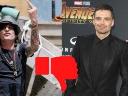 Sebastian Stan no convence como Tommy Lee