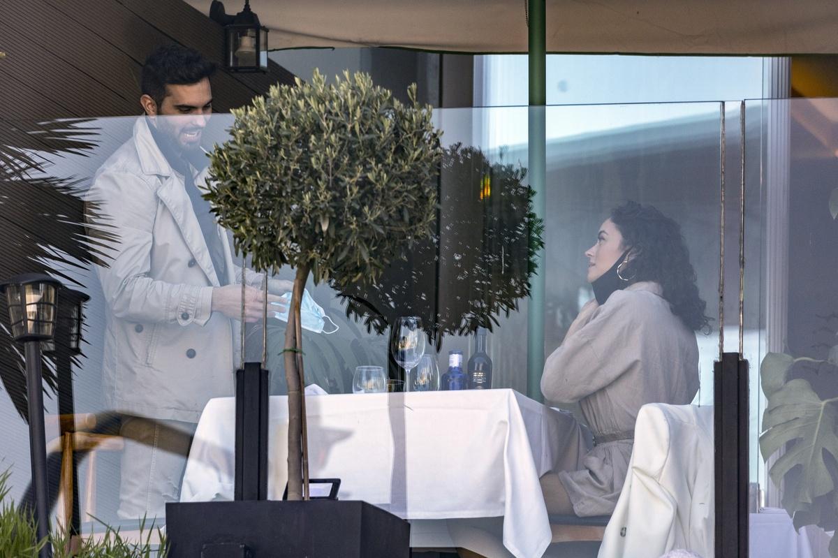 Suso y su novia Amanda.