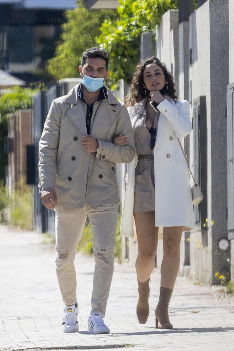 Suso y su novia visten igual