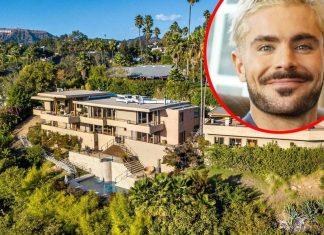 Zac Efron vende mansión de 3 pisos en Los Ángeles