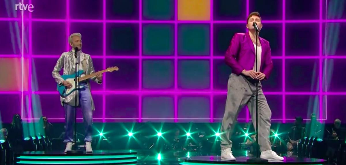 Dinamarca es una de las actuaciones más originales de Eurovisión 2021